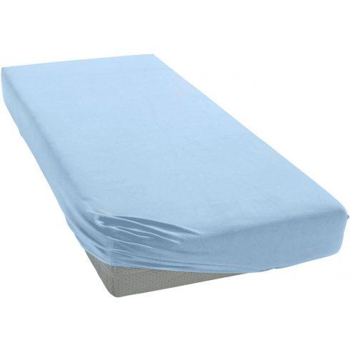 70*140 cm pamut,gumis lepedő - kék