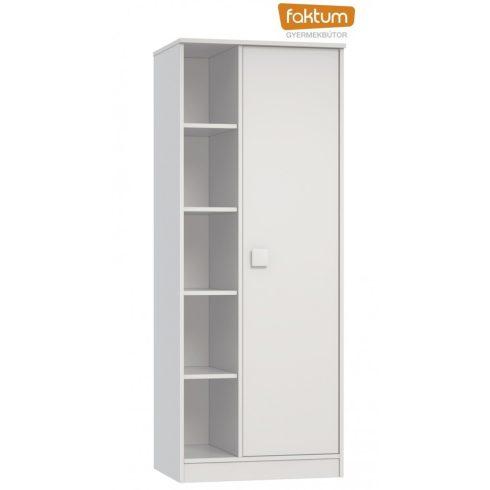 Faktum Eco Line 2 osztású szekrény - Fehér