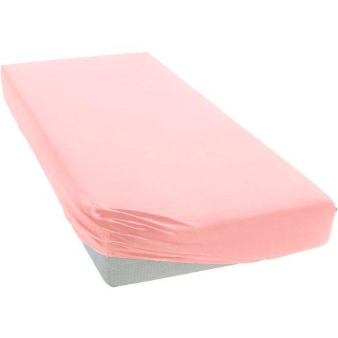 60*120 cm pamut,gumis lepedő - rózsaszín