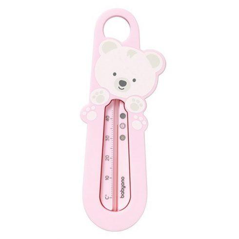 BabyOno Vízhőmérő - rózsaszín maci
