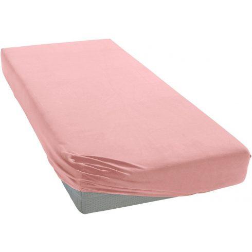 Pamut,gumis lepedő 70*140 cm - rózsaszín