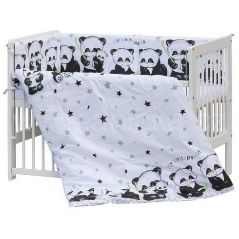 5 részes babaágynemű - panda